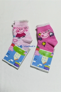 Socks Peppa Pig - Cotton socks for girl with Peppa Pig)