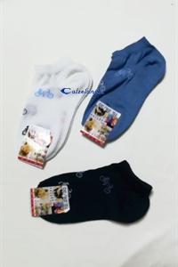 Socks Cycle - Cotton sock for boy with bicycle design)