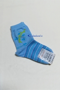 Socks Butterflies - Cotton socks for girl with small butterflies drawn.)