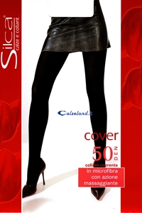 Cover pantyhose 50 denier - Pantyhose in microfibre 50 deniers)