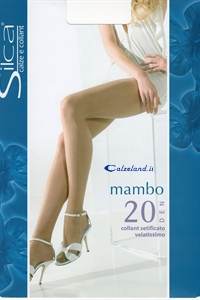 Mambo 20 denier - Pantyhose 20 denier with reinforced panty and toe.)
