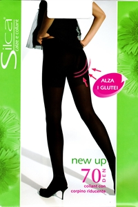 New up 70 pantyhose - Pantyhose 70 denier with panty modeling that shape your silhouette.)
