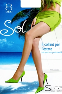 Sol pantyhose - Pantyhose 8 denier low waist very light and fresh.)