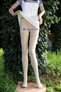 Weasley lace tights - 20 denier pantyhose in microfiber with lace work.)