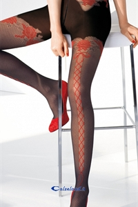 Parigi pantyhose 40 den - Tights sexy 40 denier with fake network)