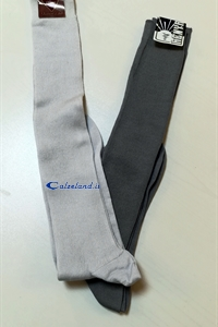 Cotton knee-high man - Knee-high sock for man with work to rib)