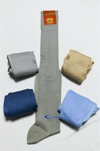 Gambaletto uomo in cotone a maglia liscia al ginocchio